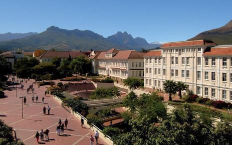FILE: Stellenbosch University. Picture: Facebook.com
