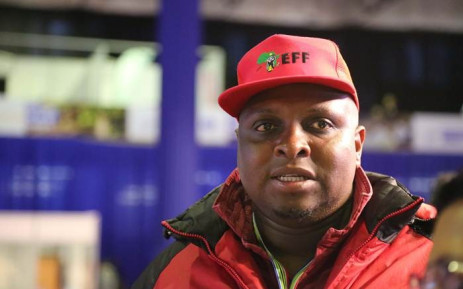 EFF Deputy President Floyd Shivambu arrives at the National results centre in Pretoria.  Picture: Christa Eybers/EWN.