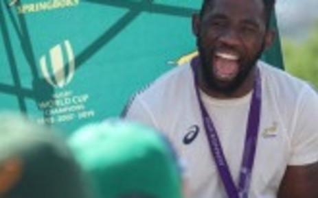 Springbok captain Siya Kolisi. Image: Abigail Javier/EWN