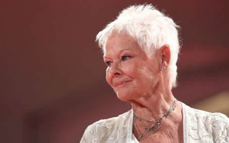 FILE: Actress Judi Dench attends the premiere of the movie 'Victoria and Abdul' presented out of competition at the 74th Venice Film Festival on 3 September 2017 at Venice Lido. Picture: AFP