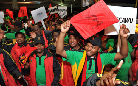 Delegates at the 11th National Congress of COSATU at Gallagher Estate in Midrand on 17 September 2012. Picture: GCIS.
