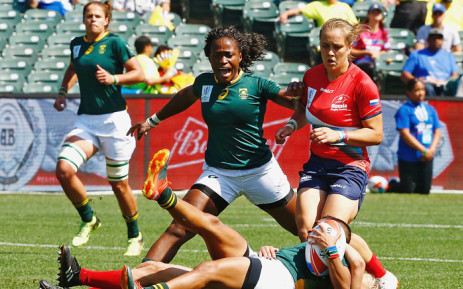 The Springbok Women's Rugby side with tour Europe In November for three Test matches. Picture: @WomenBoks/Twitter