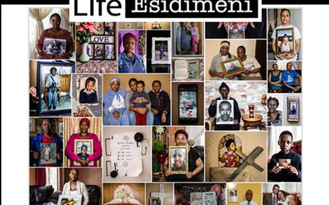 A collage of the families of the victims of the Life Esidimeni tragedy with pictures of the loved ones that they lost. Picture: @LifeEsidimeni/Twitter