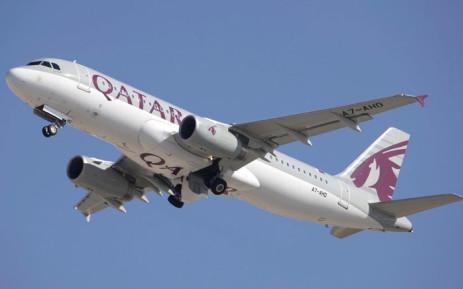 A Qatar Airways plane. Picture: @qatarairways/Twitter
