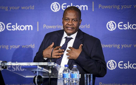 FILE: Eskom CEO Brian Molefe speaks during a press conference in Johannesburg on 3 November 2016. Picture: Reinart Toerien/EWN.