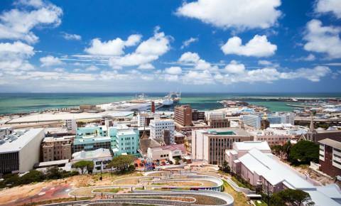 Port Elizabeth Gqeberha Nelson Mandela Bay cityscape eBhayi Eastern Cape 123rf