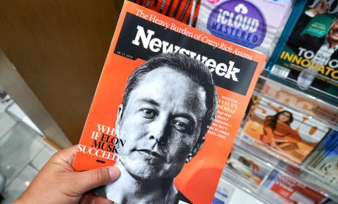 Elon Musk on the cover of Newsweek 123rfbusiness 123rf 123rflifestyle