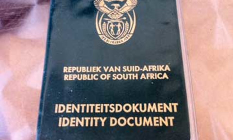 South African Identity Document
