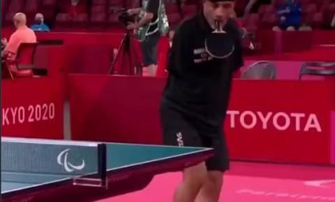 Paralympian Ibrahim Hamadtou