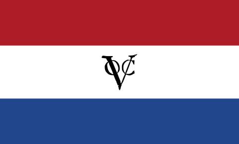 Flag of the Dutch East India Company wikimedia commons