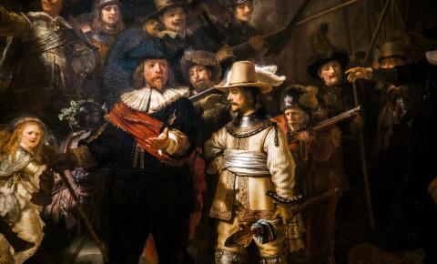 The Night Watch Rembrandt van Rijn 123rf