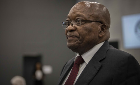 Former President Jacob Zuma at state capture commission 17 July 2019