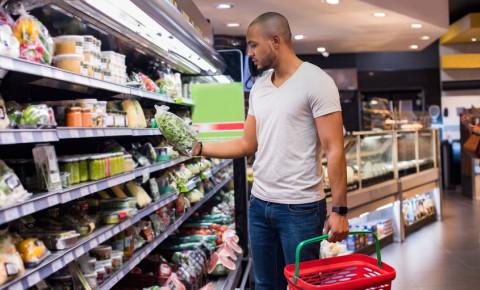 grocery shopping food fresh produce vegetables  supermarket consumer 123rf