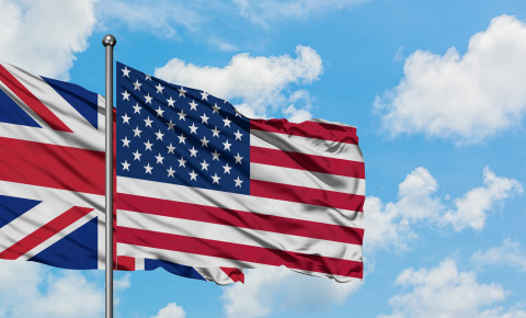 British United States US USA UK flag flags 123rf