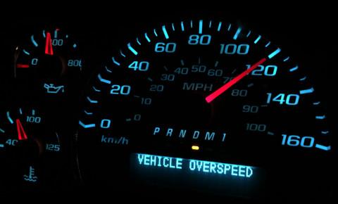 Speed limit speeding 123rf