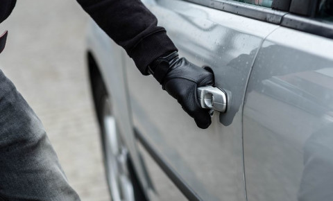 Car vehicle theft 123rf
