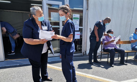 karl bremer hospital vaccine  vaccination western cape health department nurse