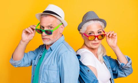 Funky hipster retired older mature couple 123rf 123rfbusiness retirement