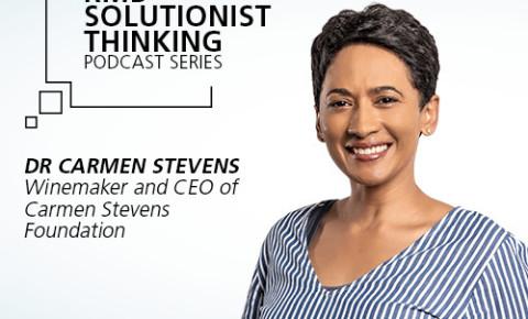 RMB Solutionist Thinking - Carmen Stevens from Carmen Stevens Foundation
