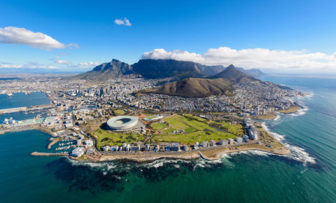 Cape Town, South Africa aerial view shot 123rflifestyle 123rfSouthAfrica 123rf