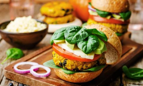 vegan millet black bean pumpkin burgers 123rf