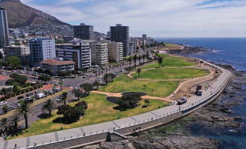 Sea Point promenade makeover