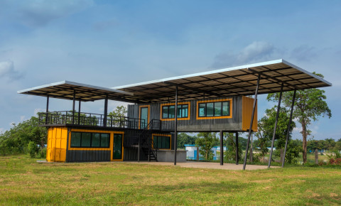 Container home house 123rf