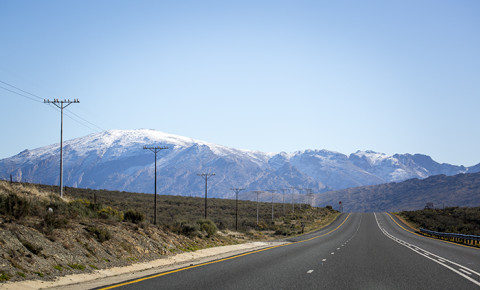 Snow on the mountains near Ceres W Cape July 2016. Picture: Aletta Harrison/EWN