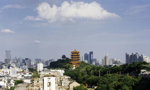Yellow Crane Tower-Wuhan-City-China-world-123rf