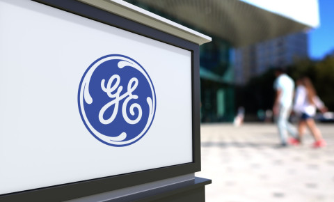 General Electric GE logo 123rf