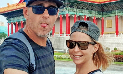 André and Lisa du Toit, a pair of full-time nomads publish a blog WeWillNomad