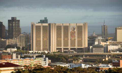 Civic centre downtown Cape Town CBD city centre 123rf