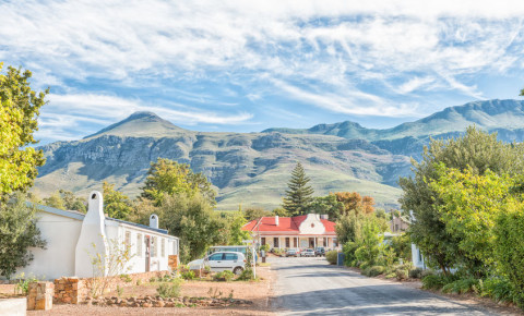 Greyton Western Cape small town South Africa 123rf