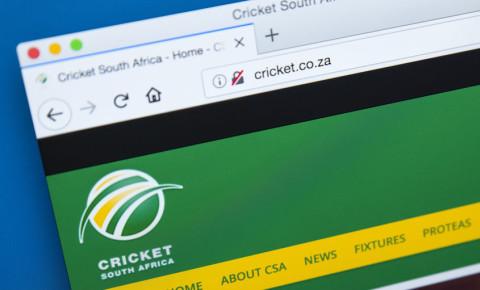 Cricket South Africa CSA 123rf 123rfsport