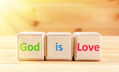 God love religion 123rf