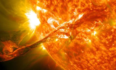 Solar Coronal Mass Ejection Sun August 2012