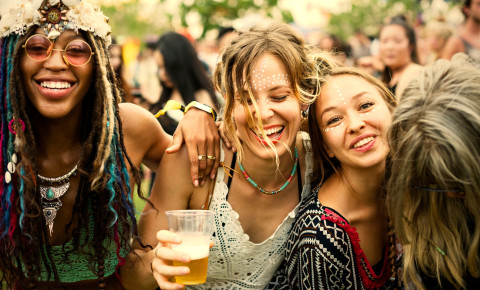 Festival party music concert happy friend 123rf