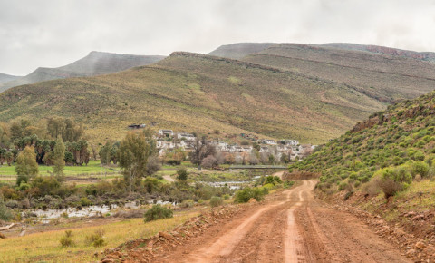 Kerskop or Eselbank Pass in the Cederberg Mountains of the Western Cape 123rf