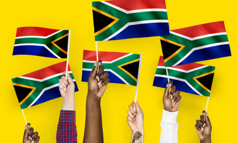 South African flags unity togetherness #strongertogether 123rf 123rflifestyle