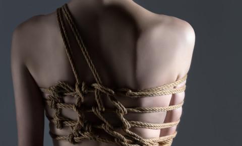 Japanese art of aesthetic bandage and tying shibari kinbaku 123rf