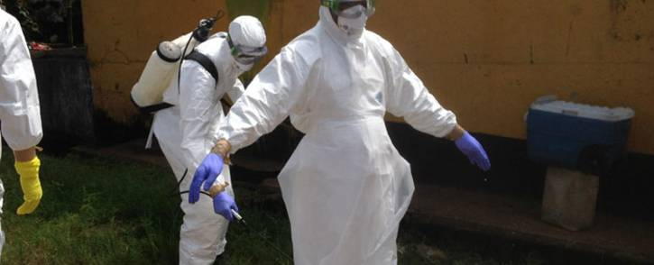 FILE: Volunteer medics preparing to start their work on the Ebola outbreak in Sierra Leone. Picture: WHO
