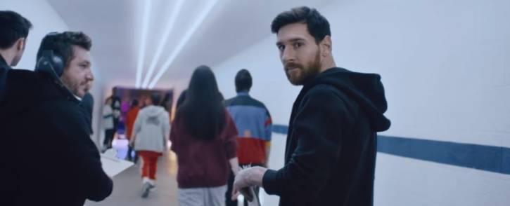A screengrab of Adidas brand ambassador Lionel Messi. Picture: www.adidas.co.za