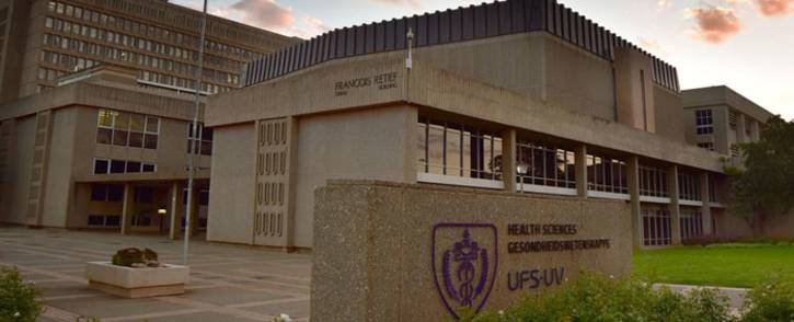 FILE: The Health Sciences faculty at the University of the Free State. Picture: @UFSweb/Twitter.
