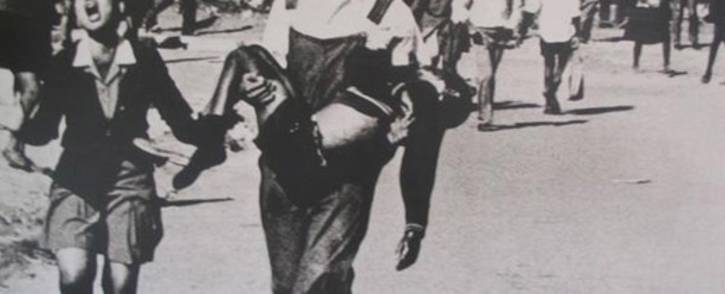 FILE: The iconic photo of Hector Pieterson being carried on 16 June 1976. Picture: Sam Nzima.