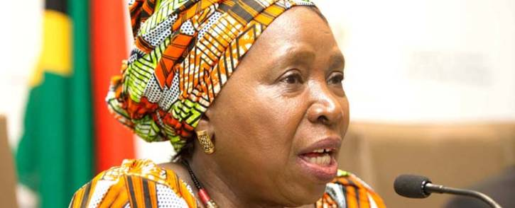 Minister in the Presidency for Planning, Monitoring and Evaluation Nkosazana Dlamini Zuma. Picture: GCIS