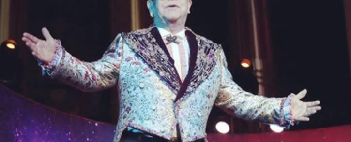 Sir Elton John. Picture: @eltonjohn/Instagram.