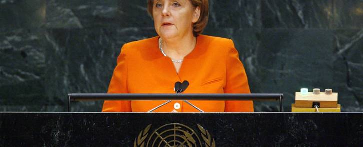German Chancellor Angela Merkel. Picture: United Nations (UN).