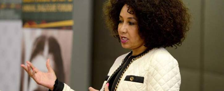 Minister of International Relations and Cooperation Ms Lindiwe Sisulu. Picture: Dirco.