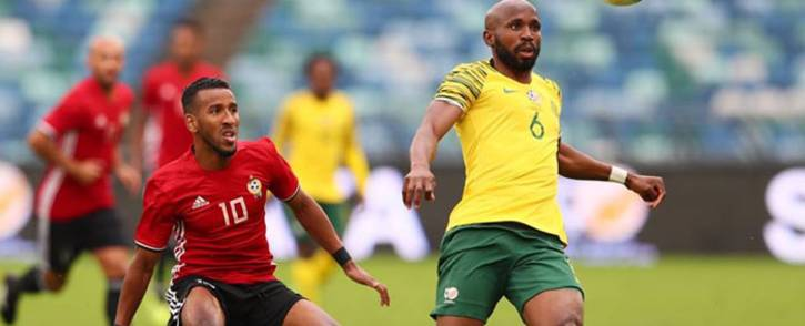 Neither Bafana Bafana nor Libya found the back of the net after squaring up at the Moses Mabhida Stadium in Durban. Picture: @BafanaBafanaSA/Facebook.com.