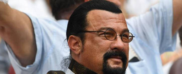 US actor Steven Seagal. Picture: AFP
